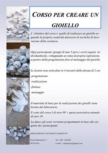 Corso Gioielli Pisa