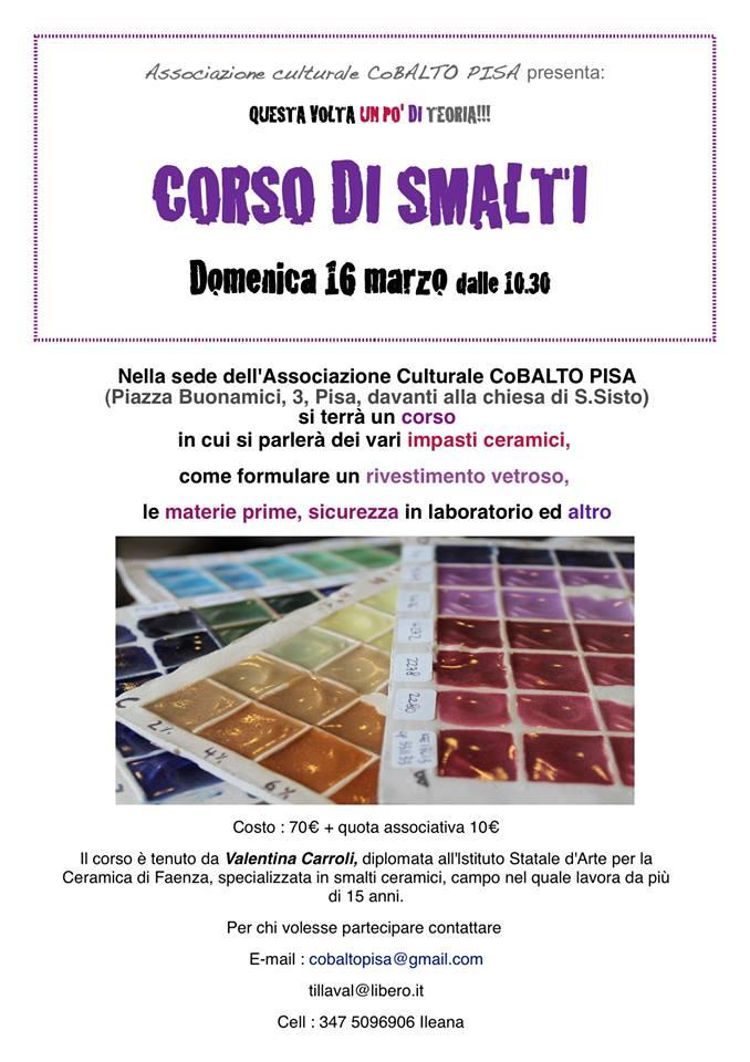 Corso smalti Pisa 16 marzo 14